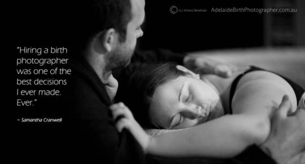 Hire a Birth Photographer - for the right reasons.